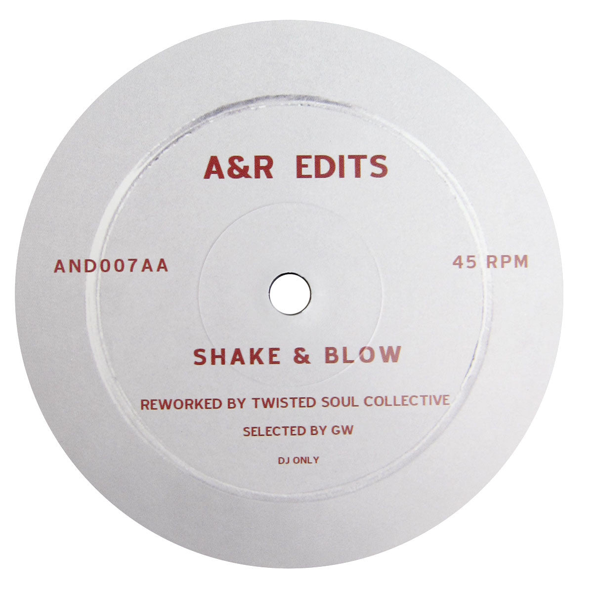 Twisted Soul Collective: A&R Edits Vol. 7 (Stevie Wonder, Chuck Brown) Vinyl 12""