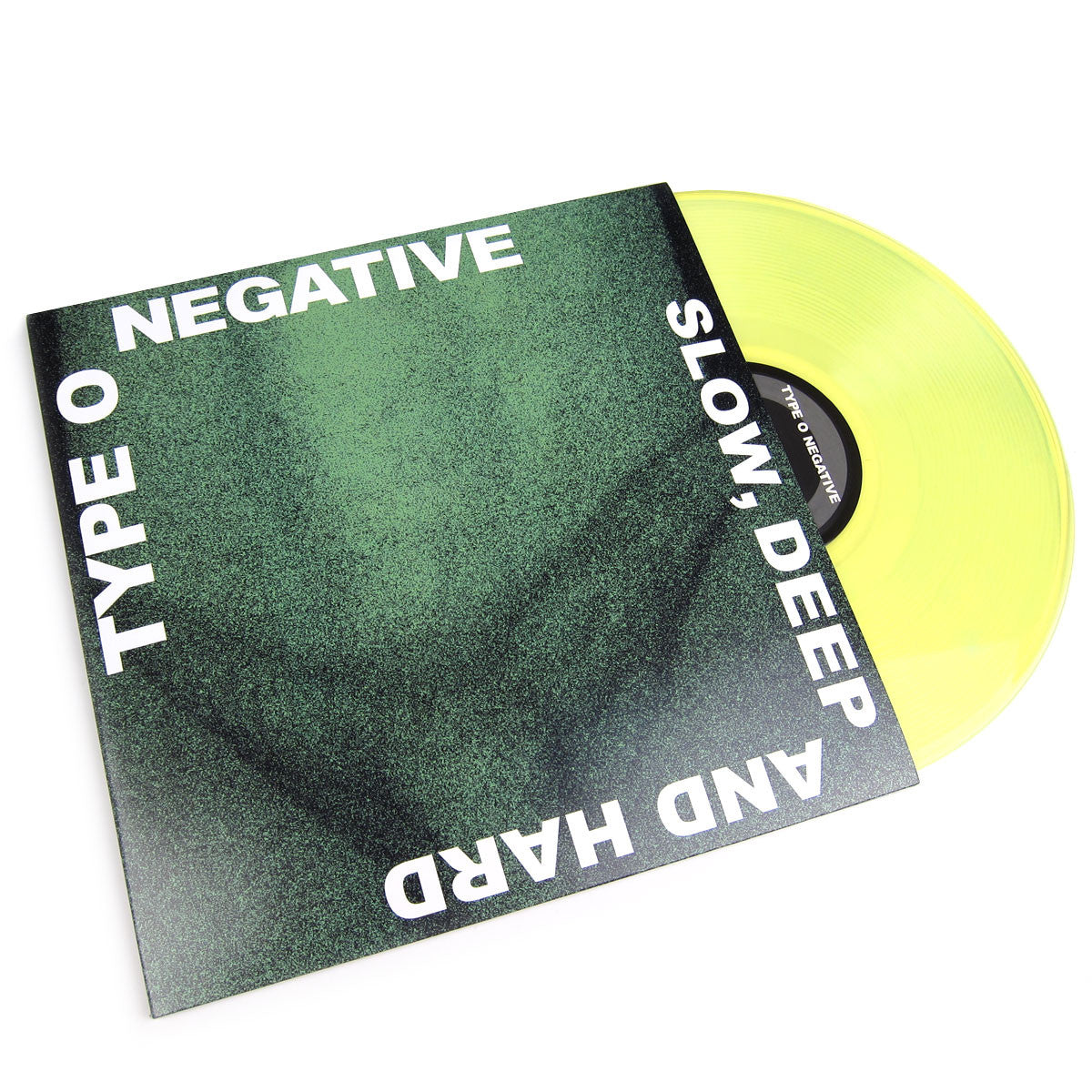 Type O Negative: Slow Deep Hard (180g Green Vinyl) Vinyl 2LP (Record Store Day)