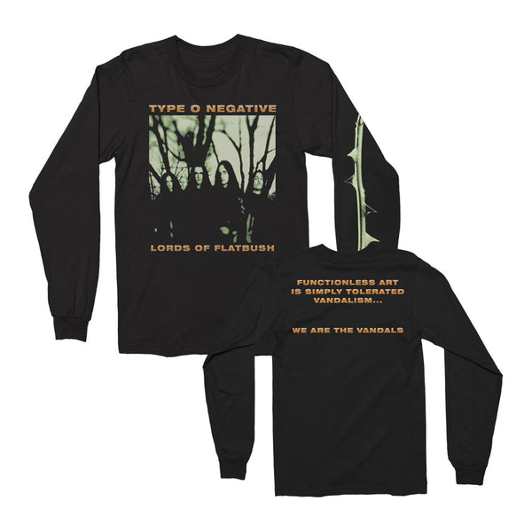Type O Negative: October Rust Long Sleeve Shirt - Black