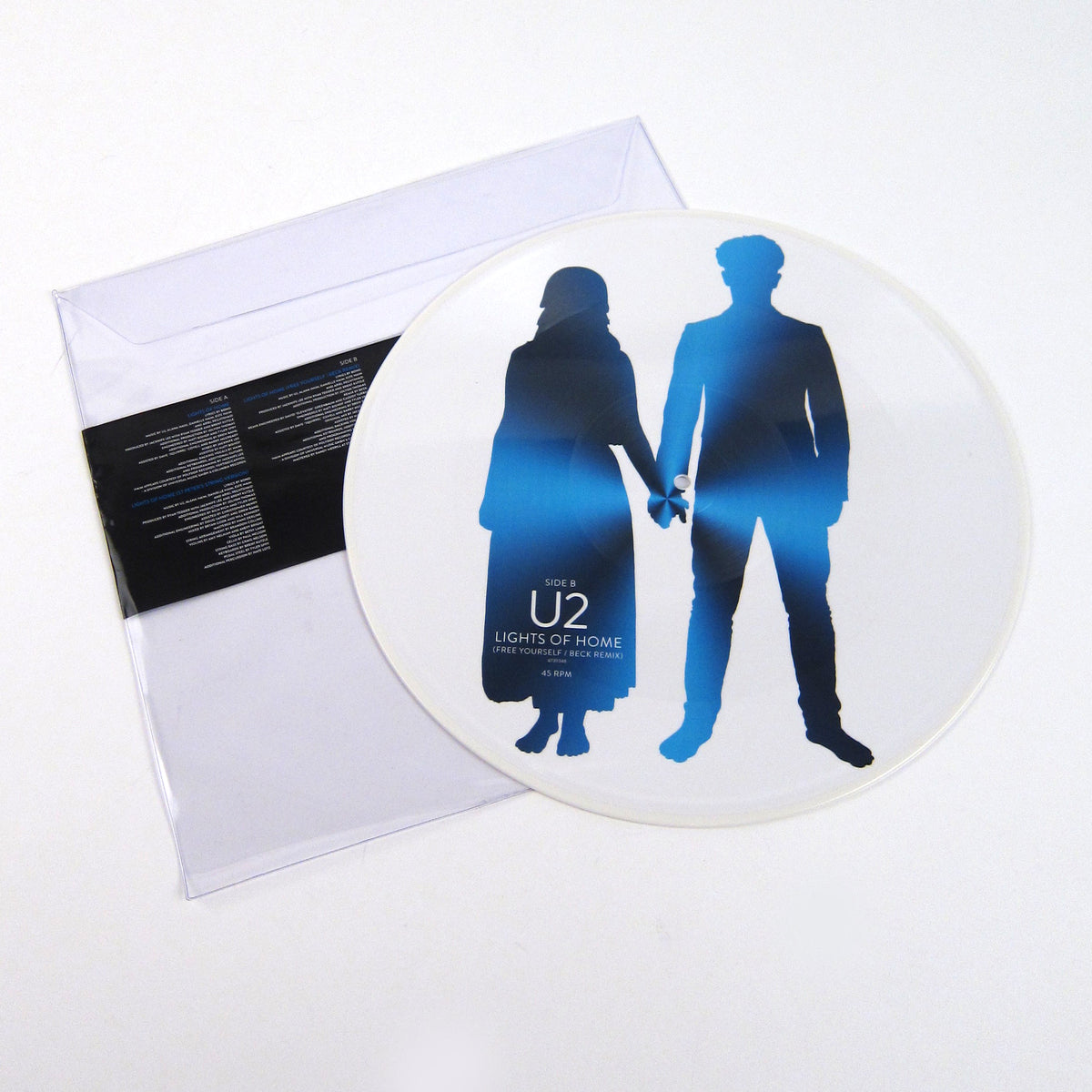 "U2: Lights Of Home (Pic Disc) Vinyl 12"" (Record Store Day)"