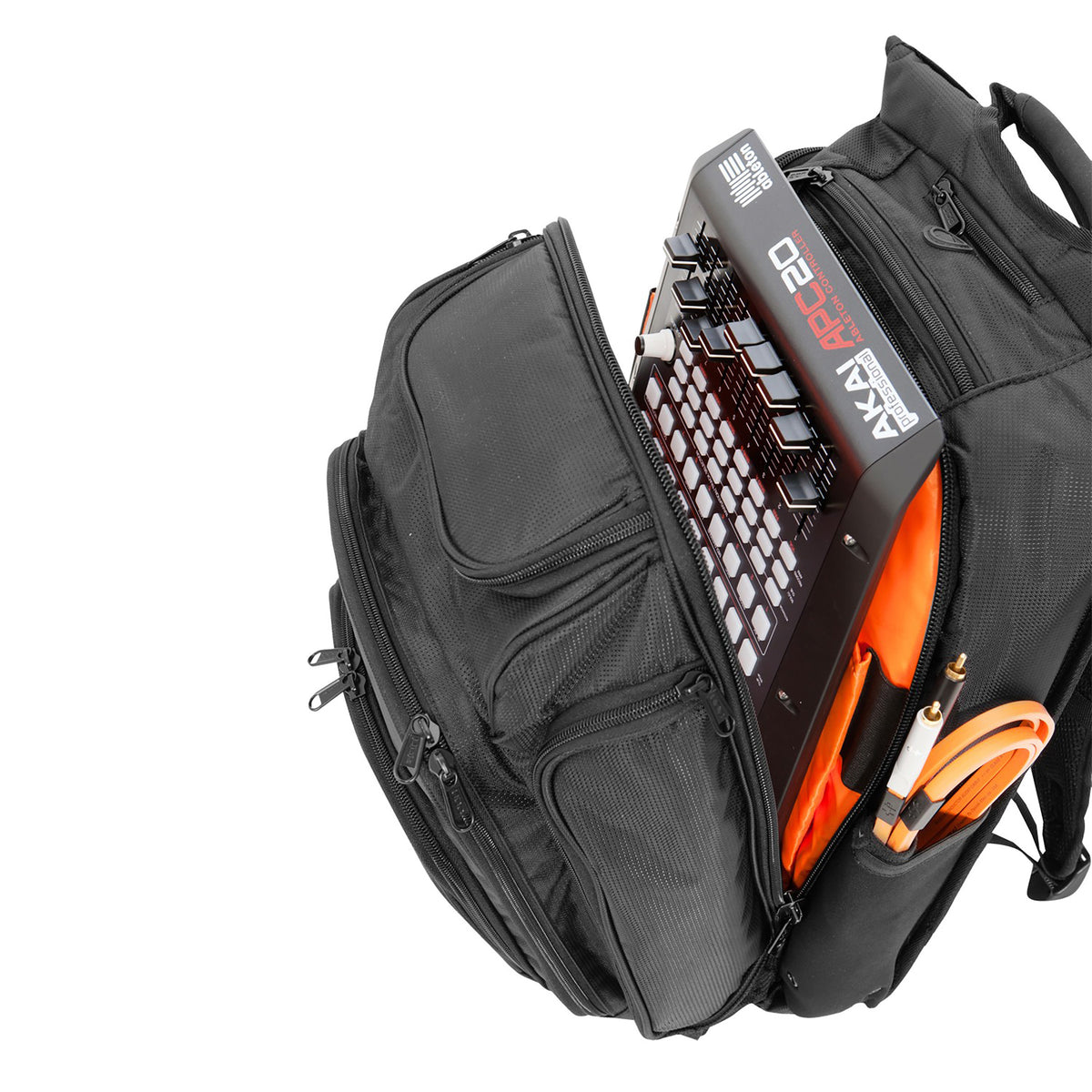 UDG: Digi DJ Backpack - Black / Orange (U9101BL/OR)