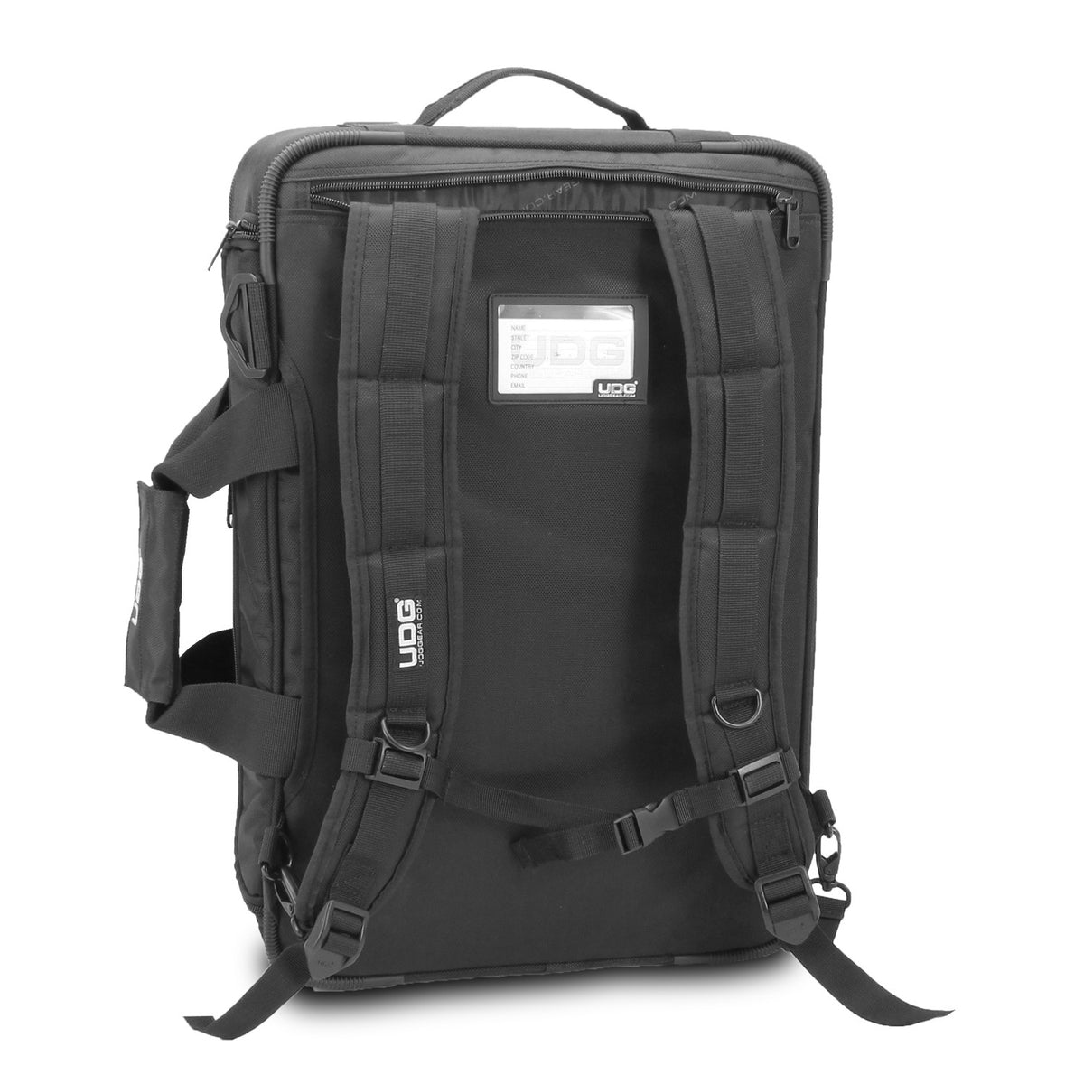 UDG: Ultimate MidiController Backpack Small MK2 - Black / Orange (U9103BL/OR)