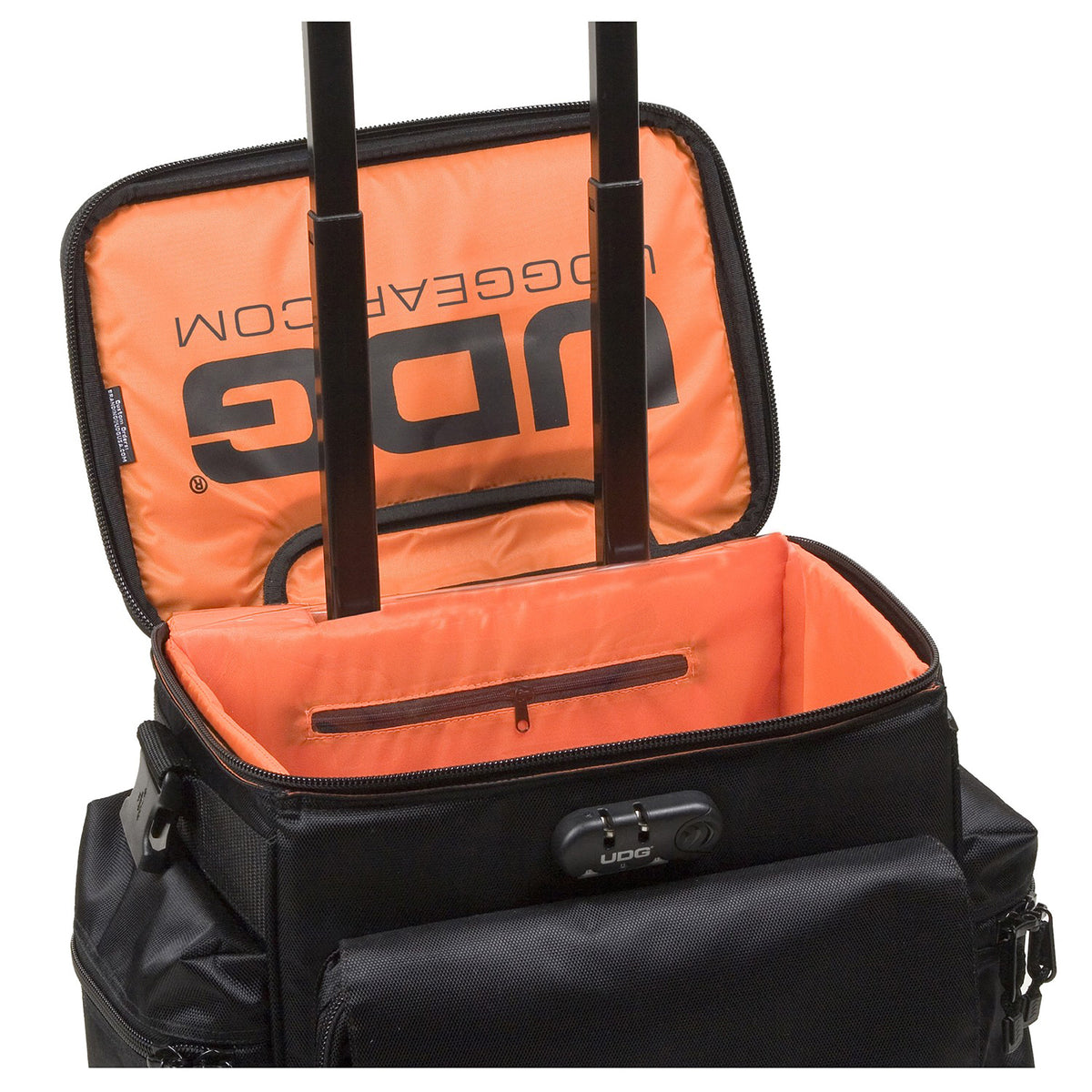 UDG: Sling Bag Deluxe Trolley Set DJ Bag - Black / Orange (U9679BL/OR)
