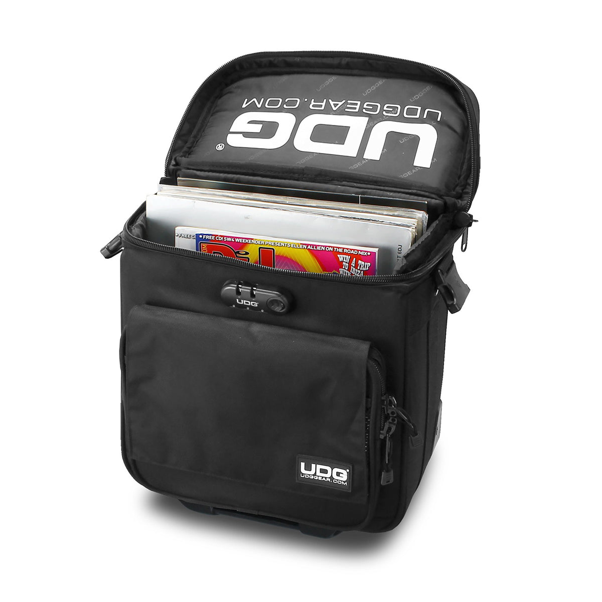 UDG: Trolley To Go Bag DJ Bag - Black (U9870BL)