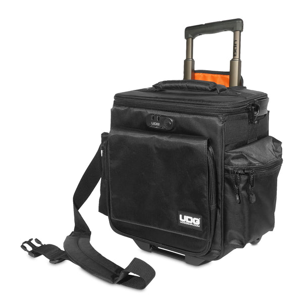 UDG: Ultimate SlingBag Trolley Deluxe MK2 - Black / Orange (U9981BL/OR)