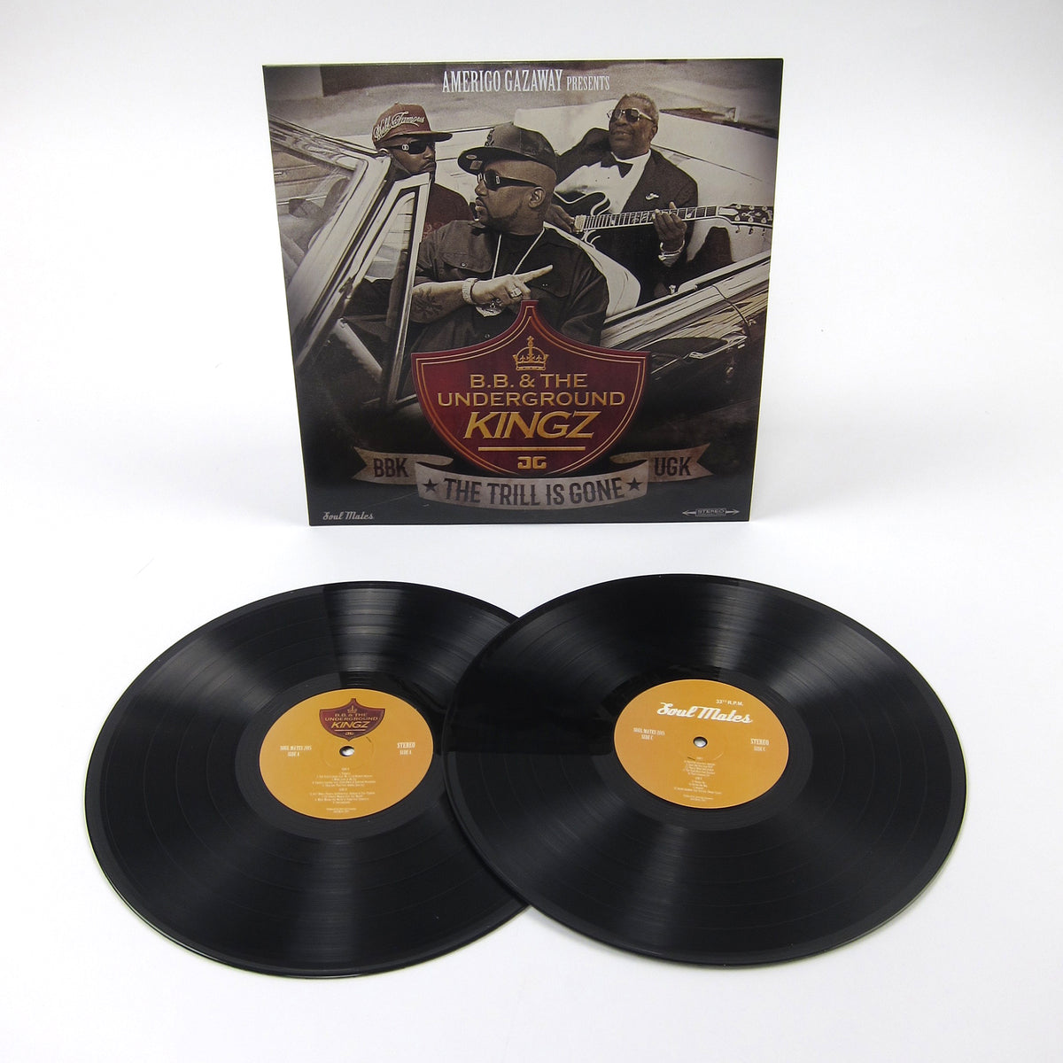 UGK vs B.B. King: Trill Is Gone Vinyl 2LP