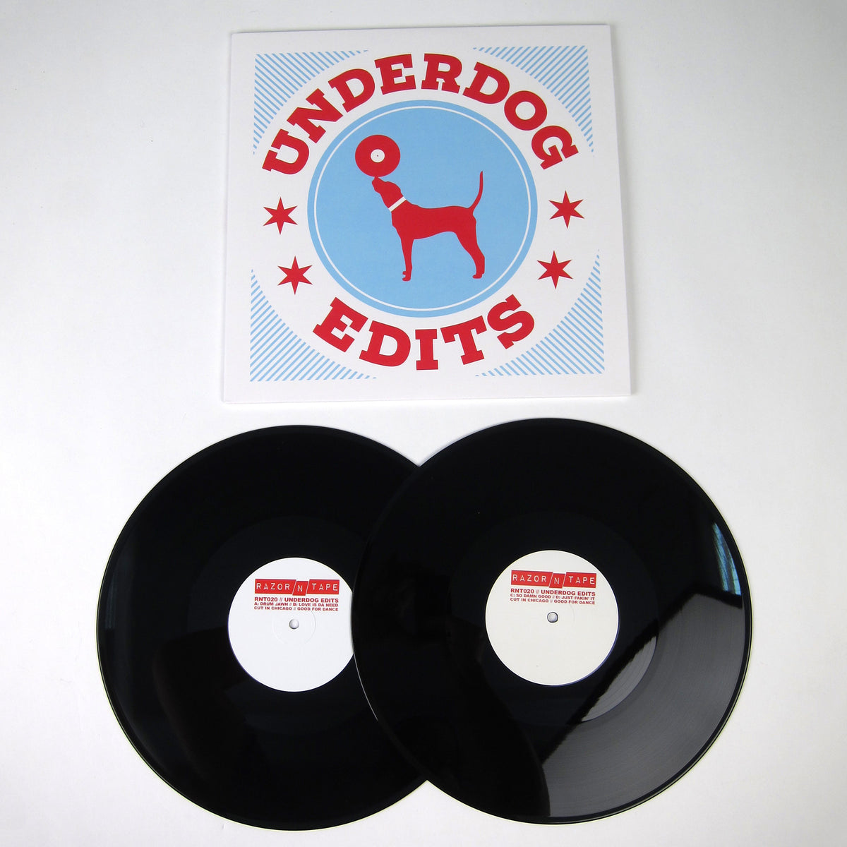 Underdog: Razor N Tape Edits (George Kranz, Randy Brown, Geraldine Hunt) Vinyl 2LP