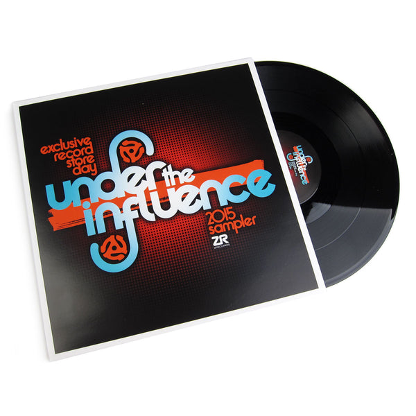 Z Records Under The Influence 2015 Sampler Vinyl 12