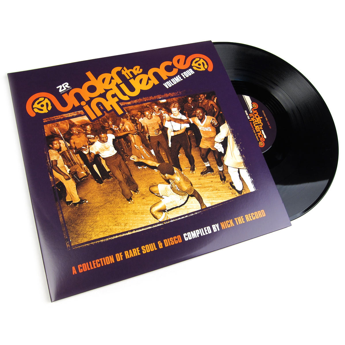 Nick The Record: Under the Influence Volume Four - A Collection of Rare Soul & Disco Vinyl 2LP