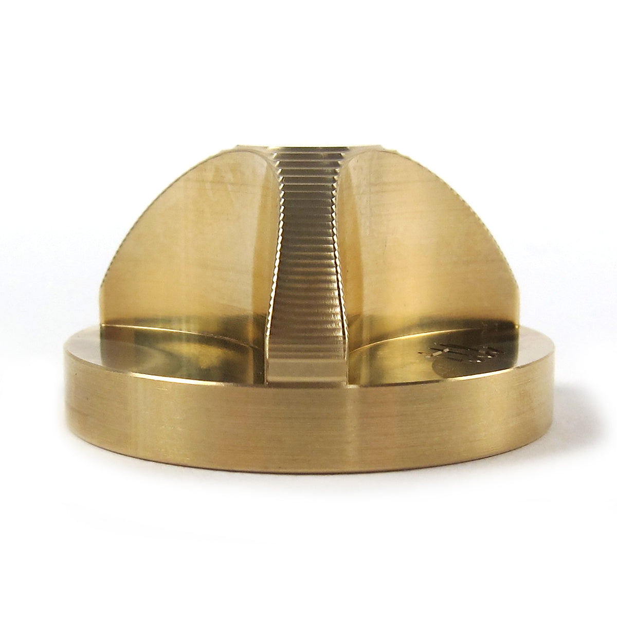 Union Products JP: 45 Adaptor Turntable Lab Edition - Raw Brass / Single