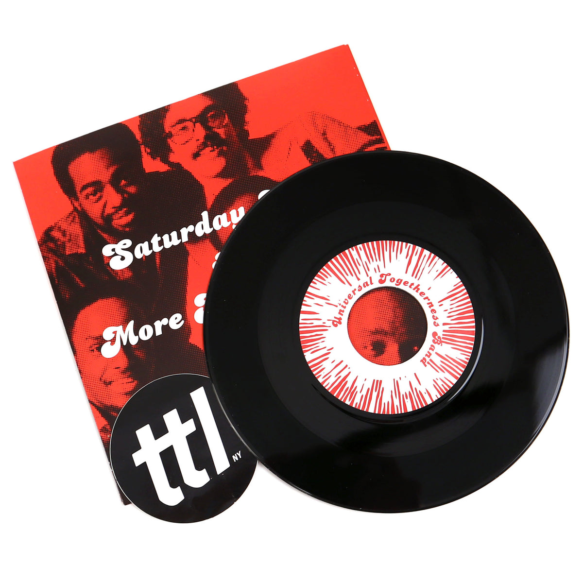Universal Togetherness Band: Saturday Night / More Than Enough Vinyl 7""