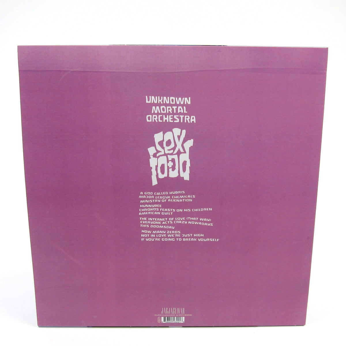 Unknown Mortal Orchestra: Sex & Food (Indie Exclusive Colored Vinyl) Vinyl LP
