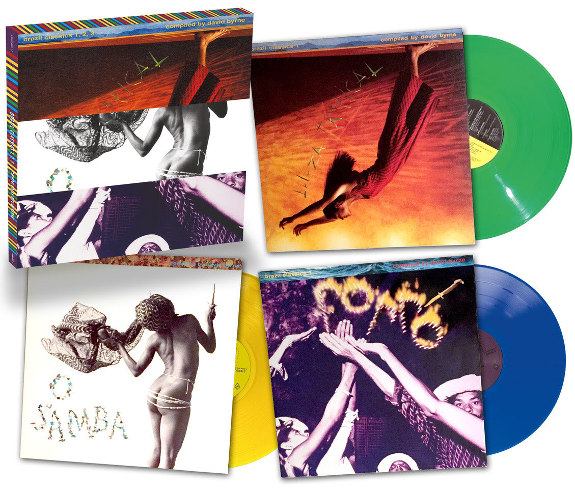 Luaka Bop: Brazil Classics 30th Anniversary (Colored Vinyl) Vinyl 3LP Boxset (Record Store Day)
