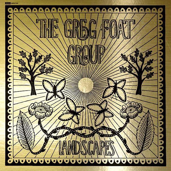 "The Greg Foat Group: Landscapes Vinyl 10"" (Records Store Day)"