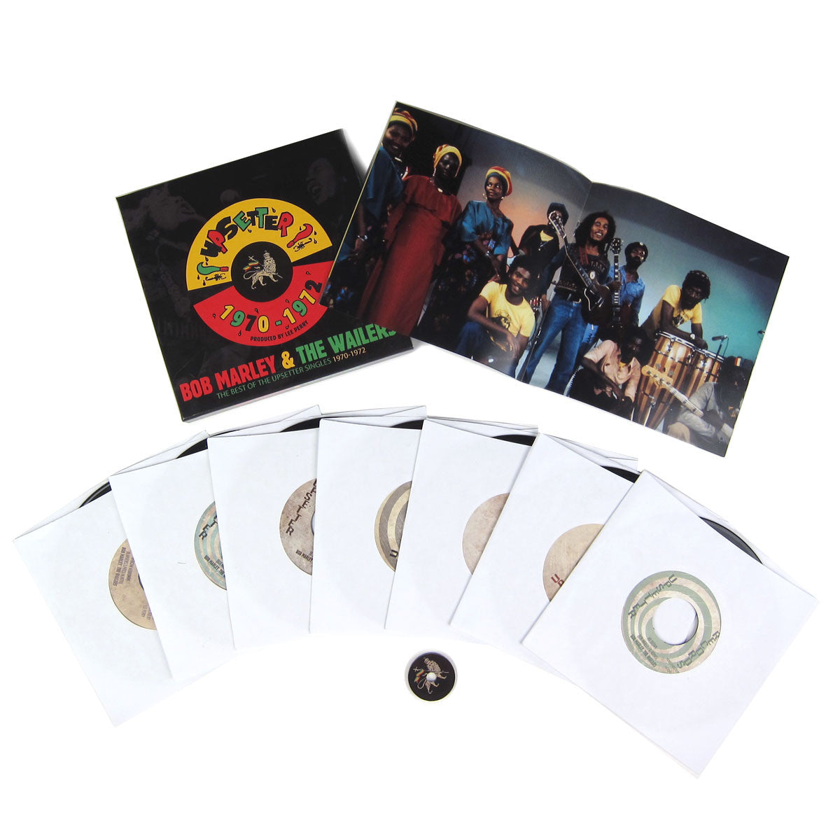 "Bob Marley: The Best Of The Upsetter Singles 1970-1972 (Lee Perry) 7x7"" Boxset"