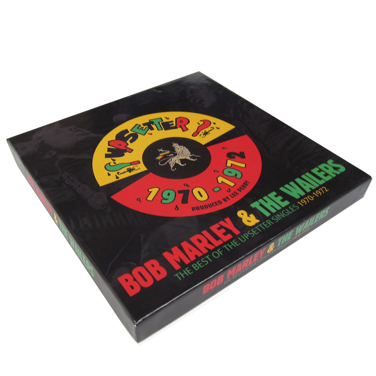 "Bob Marley: The Best Of The Upsetter Singles 1970-1972 (Lee Perry) 7x7"" Boxset box"