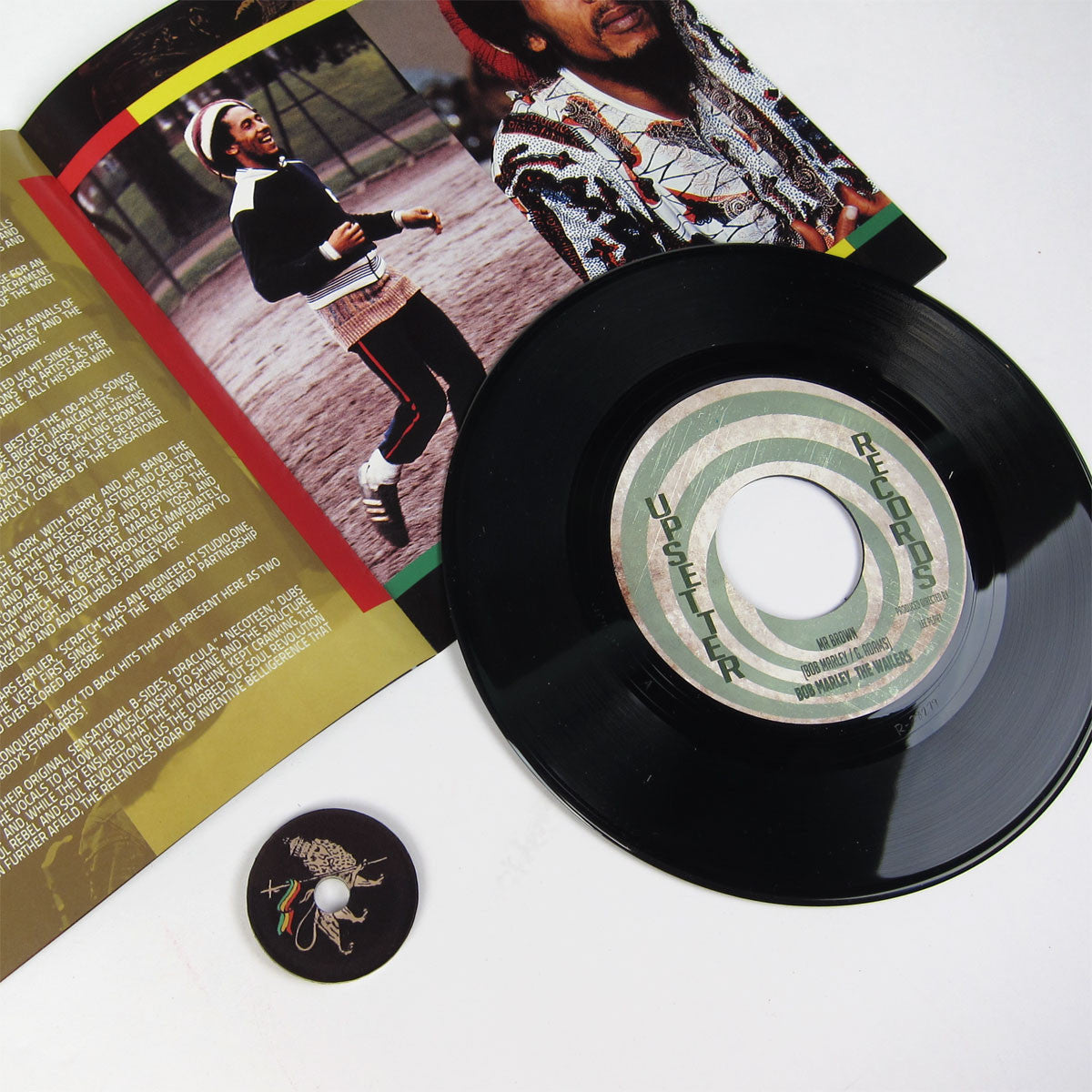 "Bob Marley: The Best Of The Upsetter Singles 1970-1972 (Lee Perry) 7x7"" Boxset detail"