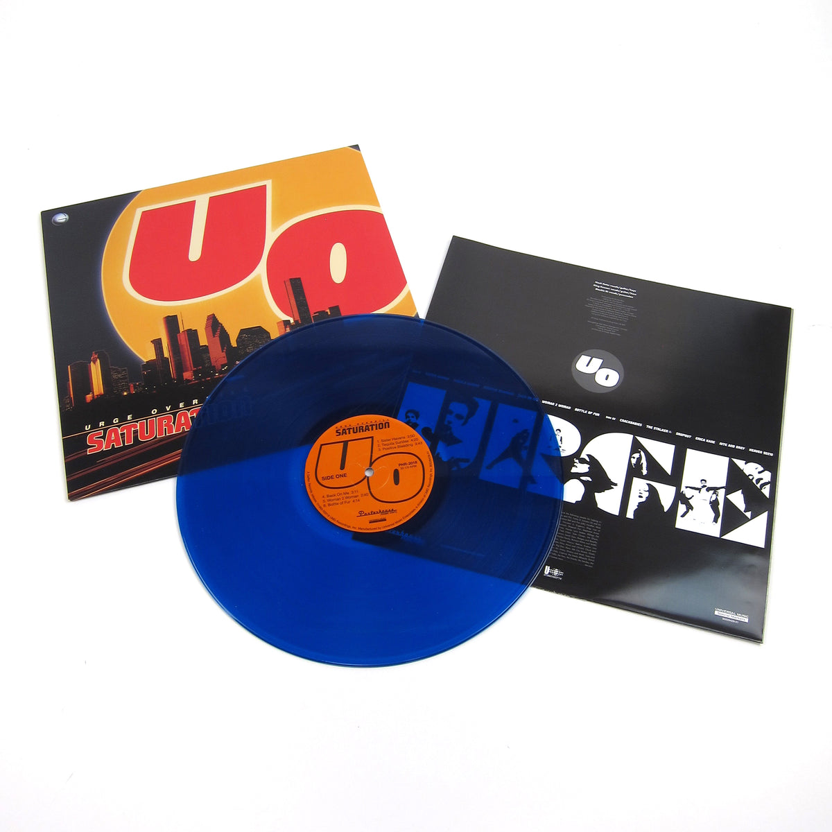 Urge Overkill: Saturation 25th Anniversary Edition (Colored Vinyl) Vinyl LP