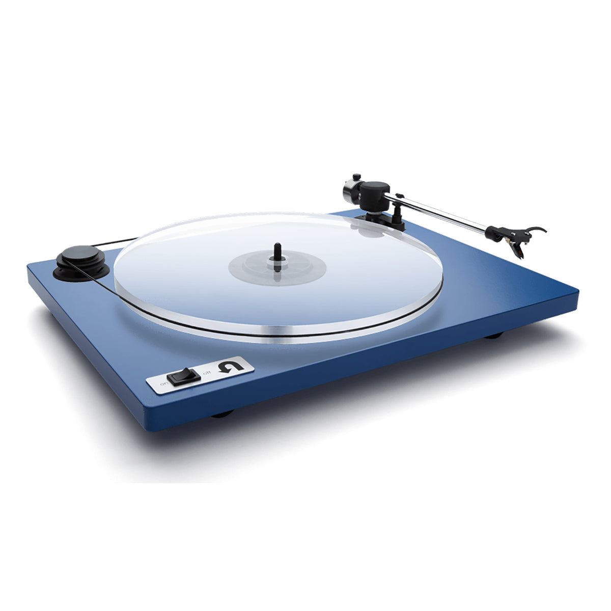 U-Turn Audio: Orbit Plus Turntable w/ Built In Preamp (OM5e) - Blue