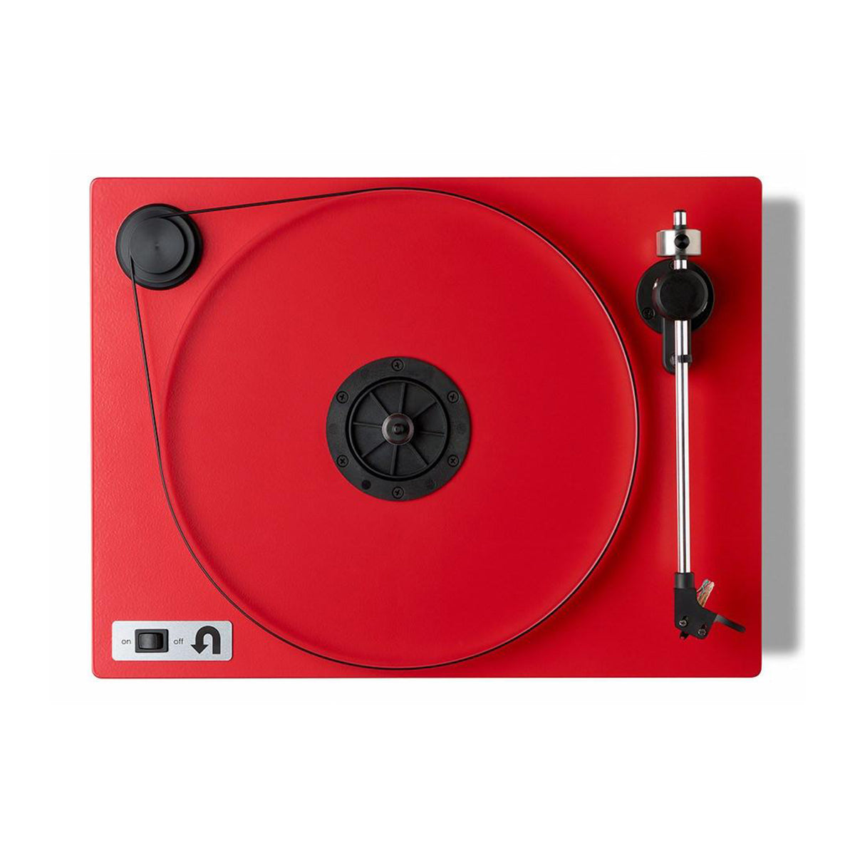 U-Turn Audio: Orbit Plus Turntable w/ Built In Preamp (OM5e) - Red