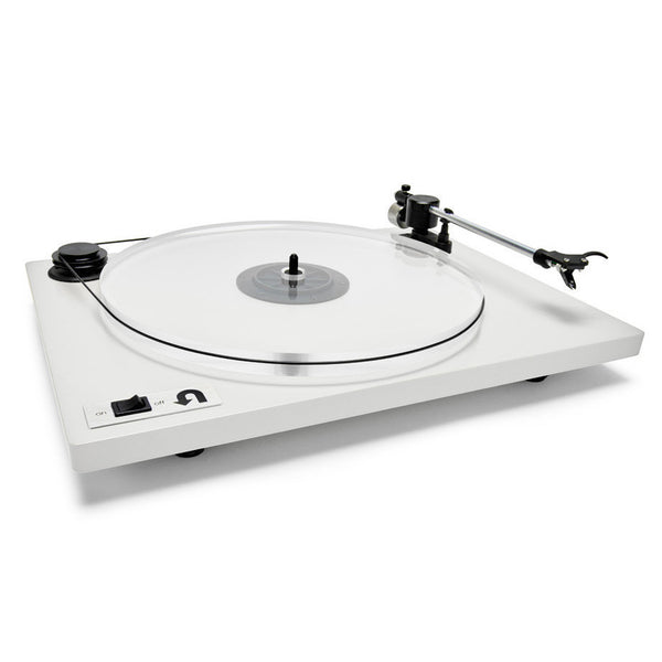 U-Turn Audio: Orbit Plus Turntable w/ Built In Preamp (OM5e) - White