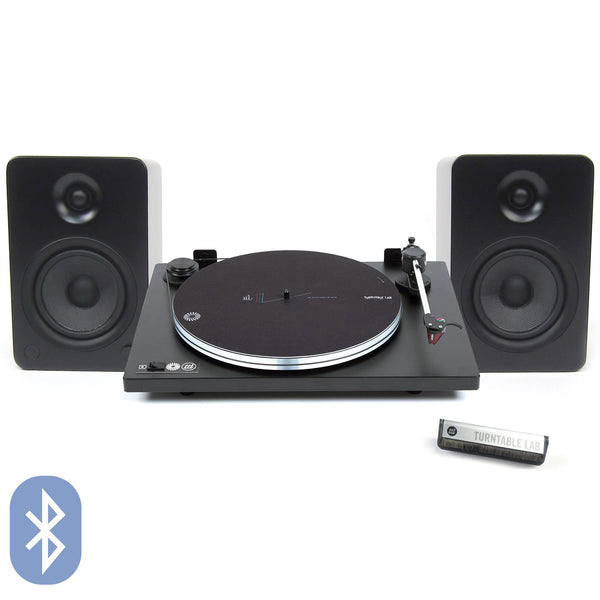 U-Turn: Orbit Turntable Lab Edition + Kanto YU6 Speaker Package (TTL Setup)