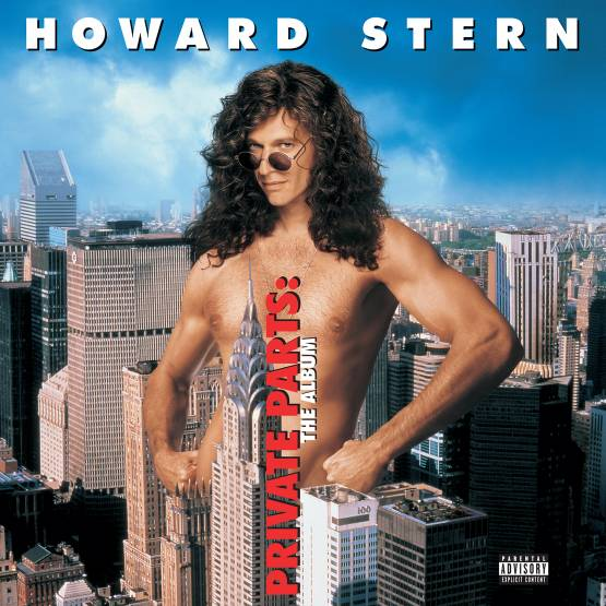 Howard Stern: Private Parts Soundtrack (Colored Vinyl) Vinyl LP (Record Store Day)