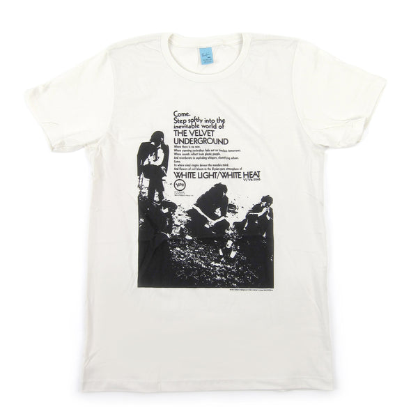 The Velvet Underground: Come, Step Softly Shirt - Off White