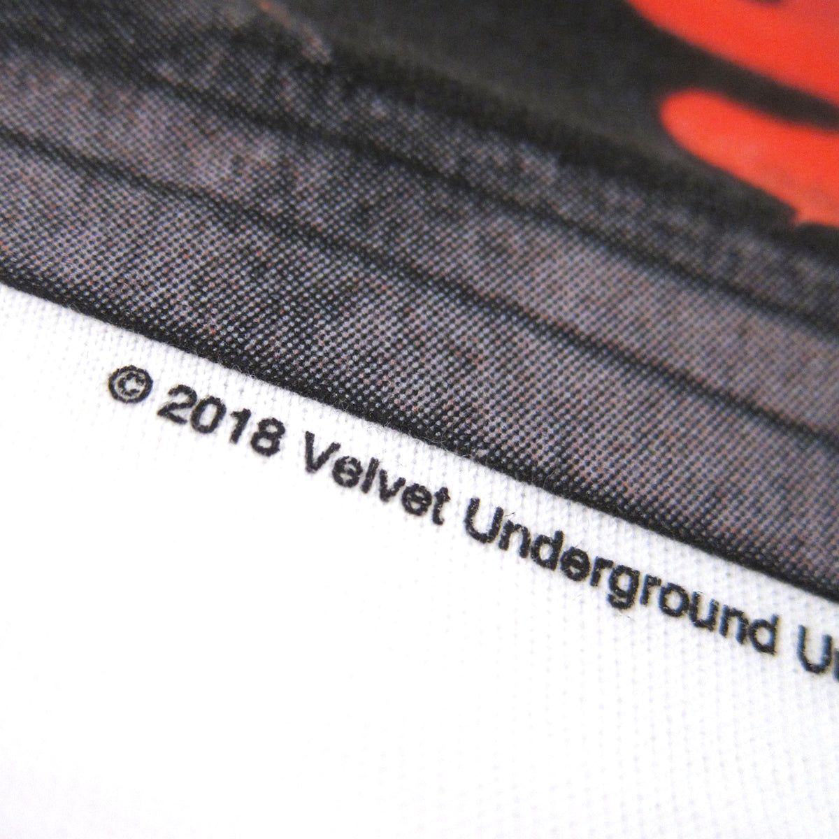 The Velvet Underground: Sweet Jane Shirt - White