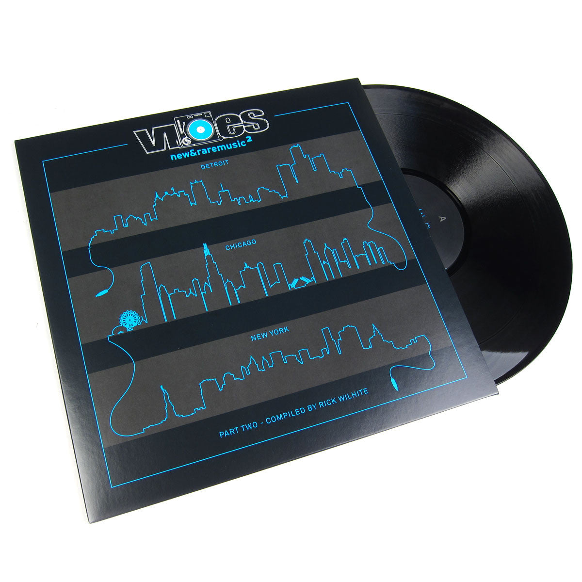 Rick Wilhite: Vibes 2 - Part Two (Moodymann, K-Alexi Shelby) Vinyl 2LP