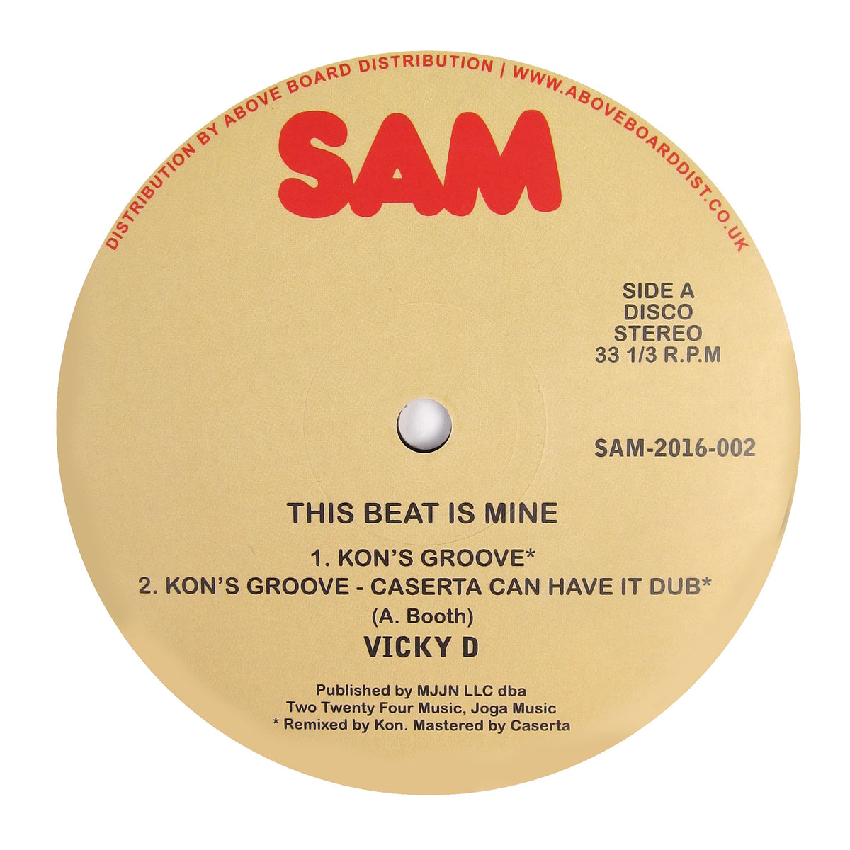 Vicky D: This Beat Is Mine (Kon's Groove) Vinyl 12""