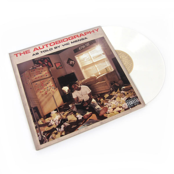 Vic Mensa The Autobiography White Vinyl Vinyl 2lp