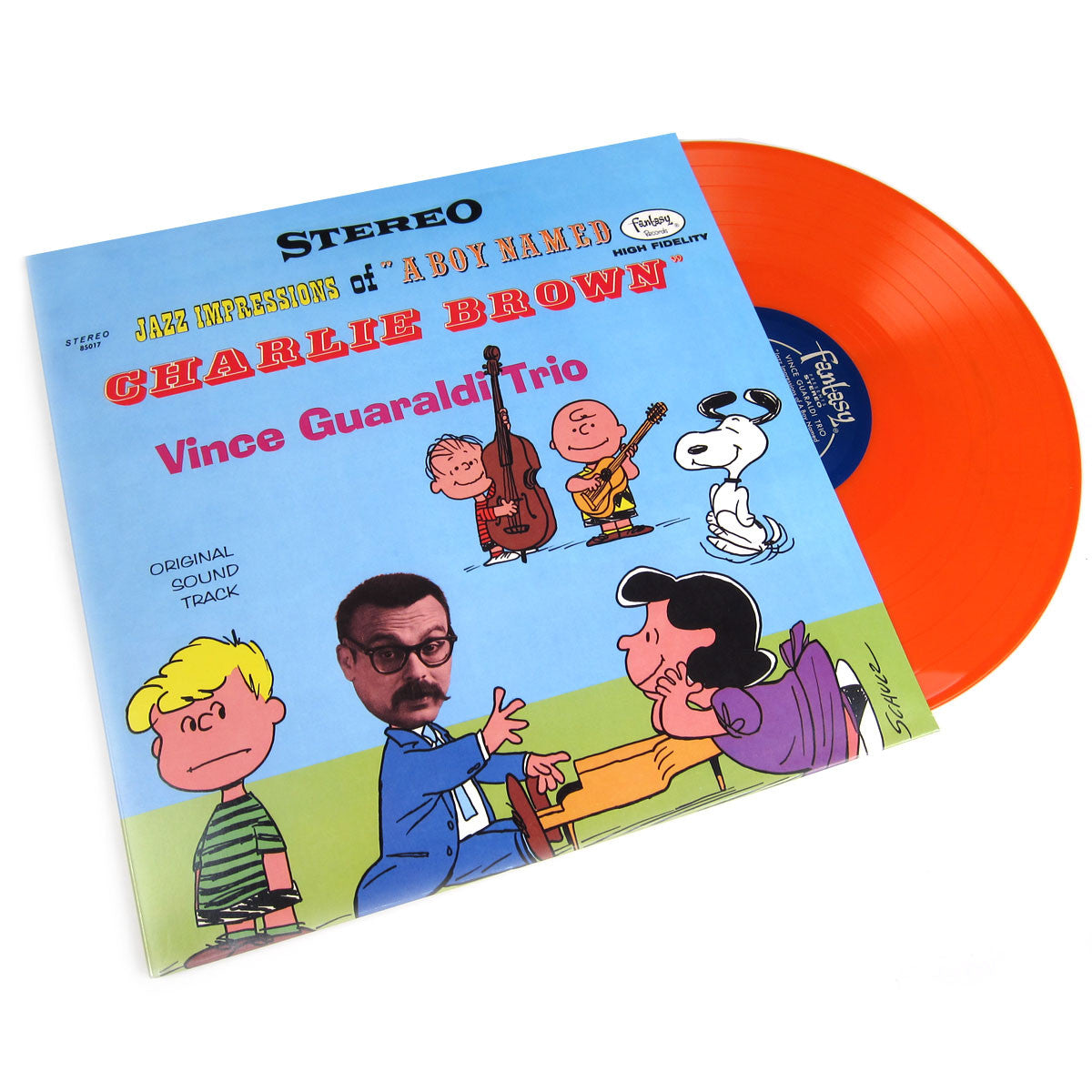 Vince Guaraldi Trio: Jazz Impressions of Charlie Brown 50th Anniversary (Colored Vinyl) Vinyl LP