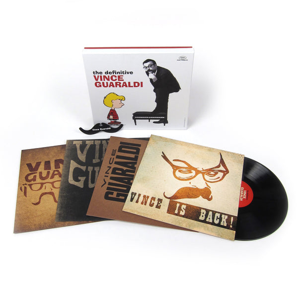 Vince Guaraldi: The Definitive Vince Guaraldi (180g) Vinyl 4LP Boxset