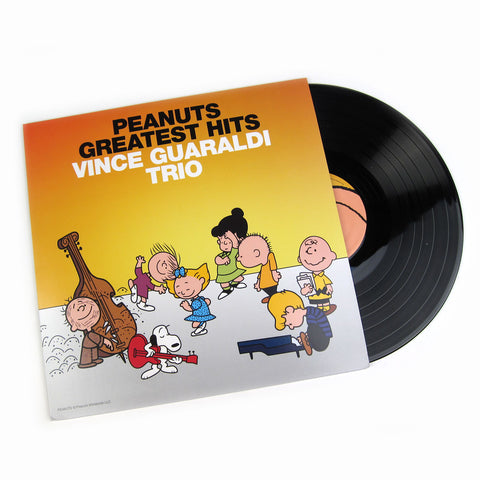 Vince Guaraldi Trio Peanuts Greatest Hits Vinyl Lp