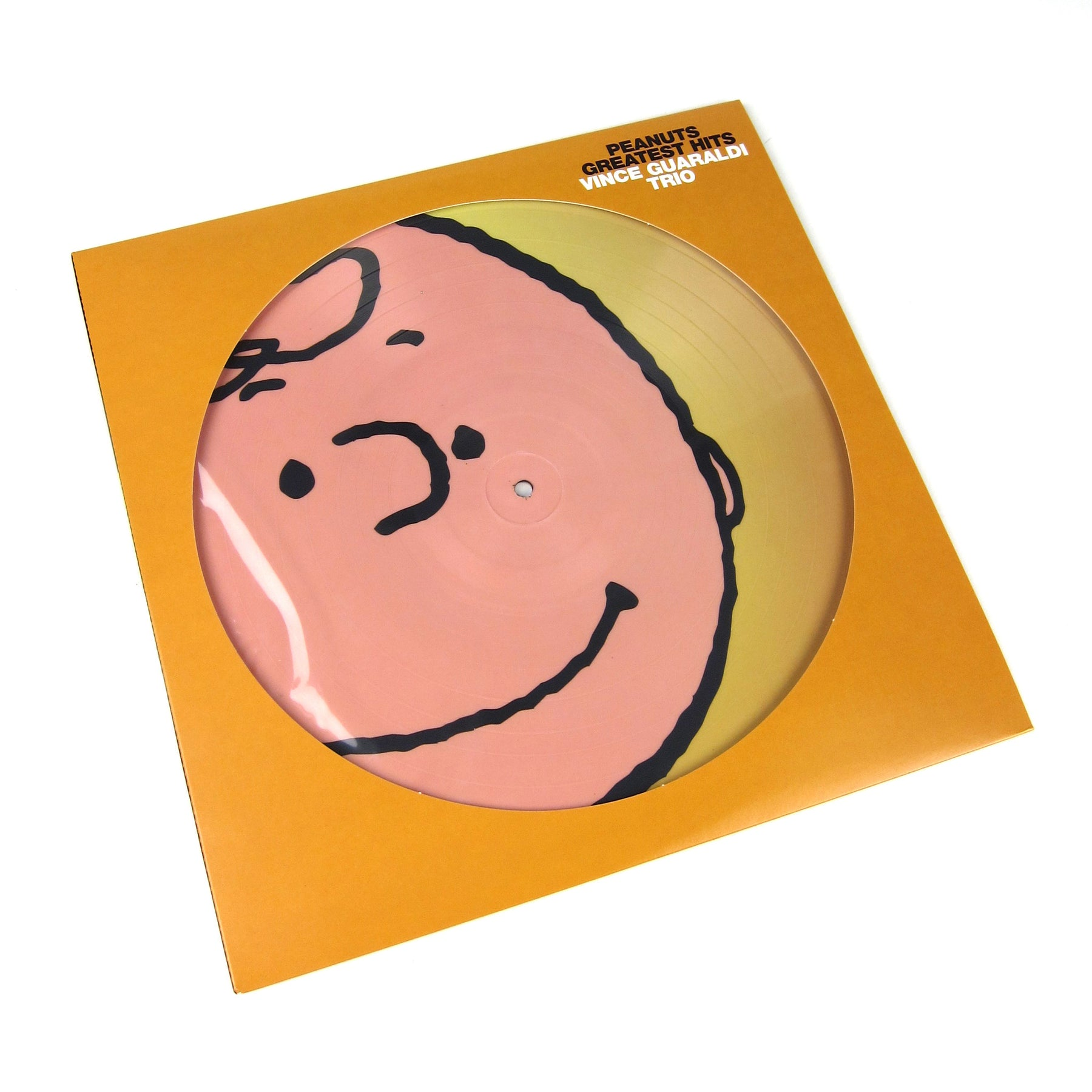 Vince Guaraldi Trio Peanuts Greatest Hits Pic Disc