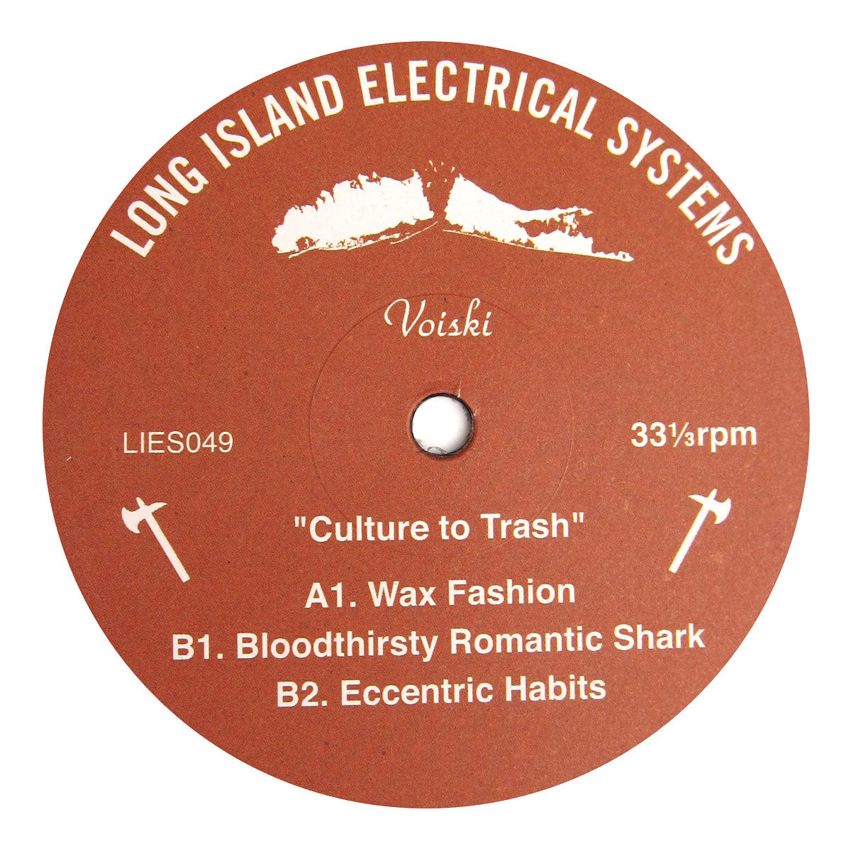 Voiski: Culture to Trash Vinyl 12""