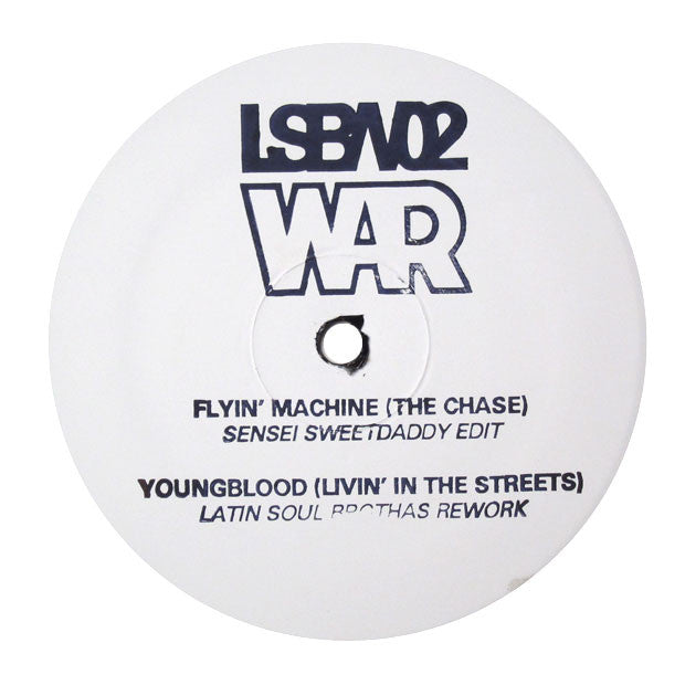 War: Flying Machine / Youngblood Edits 12""