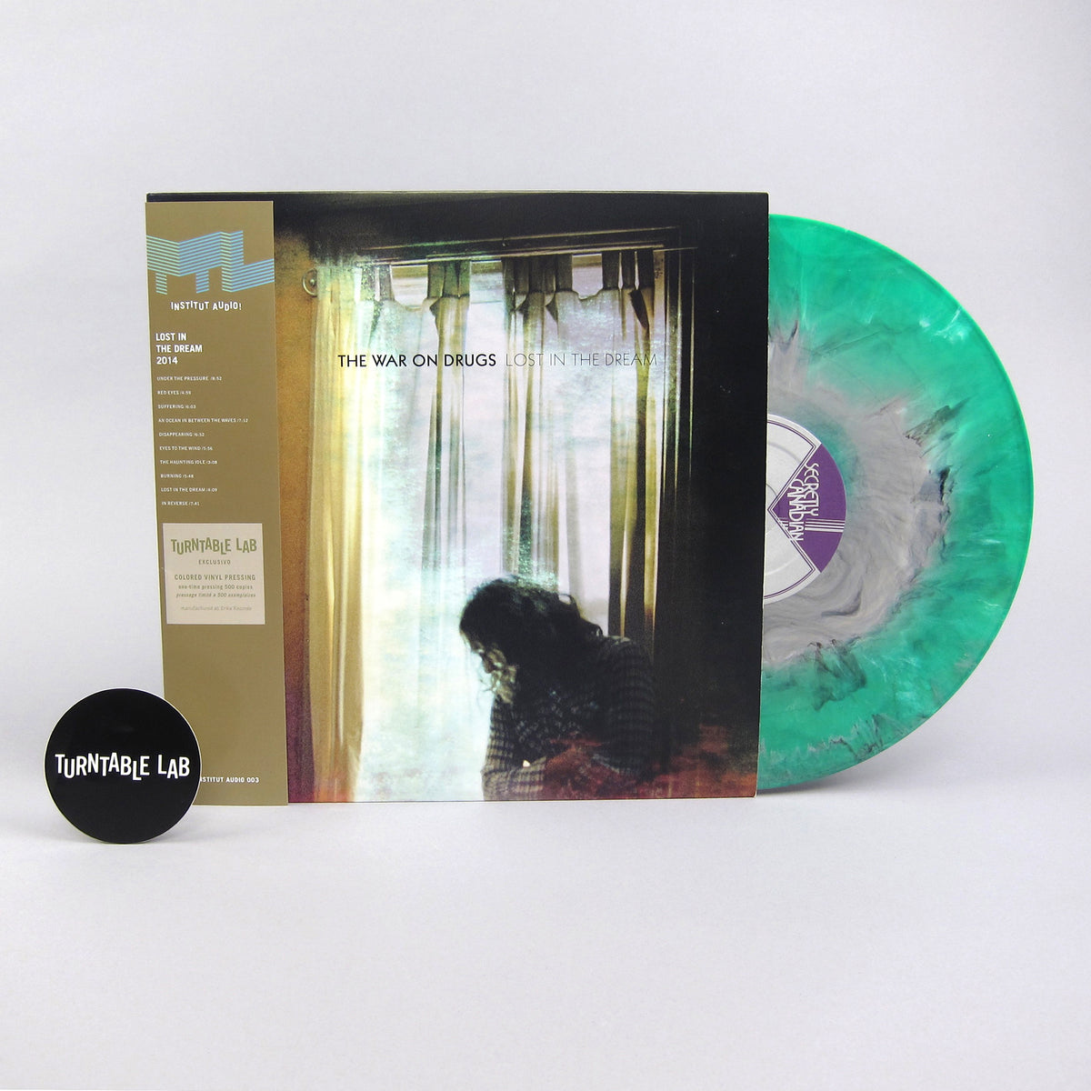 The War On Drugs: Lost In The Dream (Colored Vinyl) Vinyl 2LP - Turntable Lab Exclusive - LIMIT 2 PER CUSTOMER