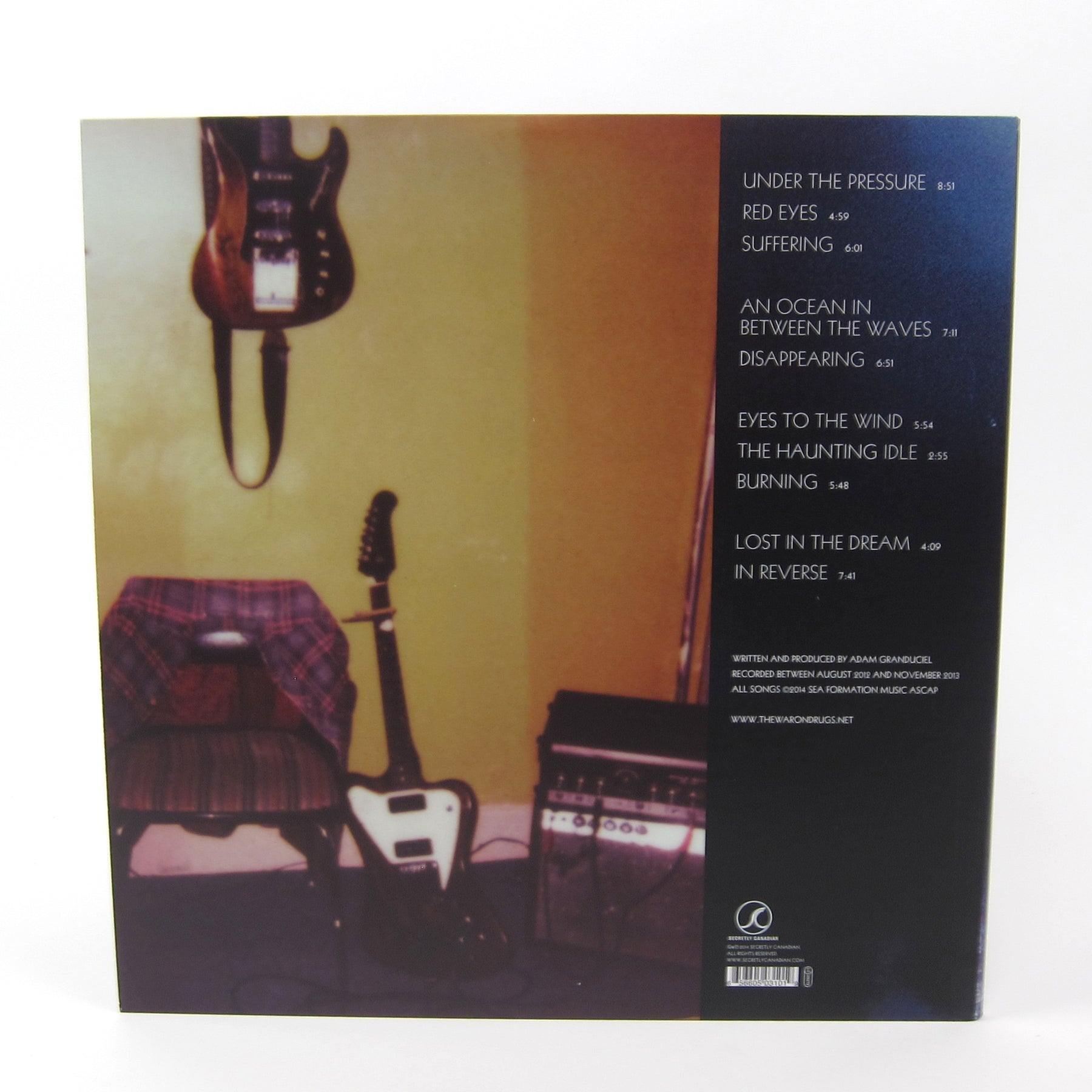 The War On Drugs Lost In The Dream Vinyl 2lp