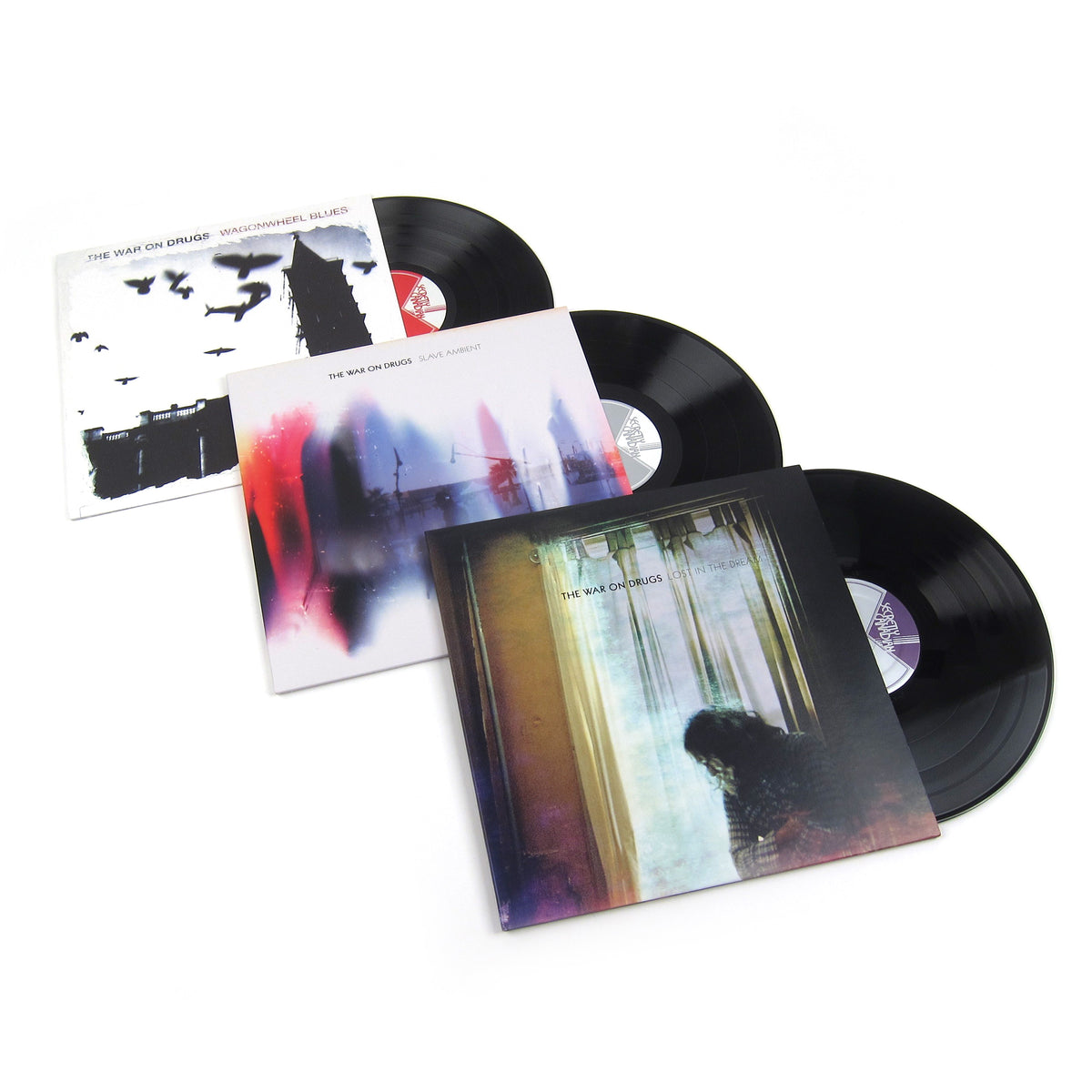 The War On Drugs: Vinyl LP Album Pack (Wagonwheel Blues, Slave Ambient, Lost In The Dream)