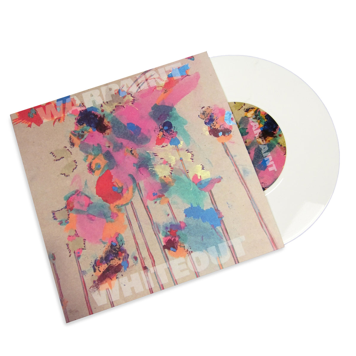 Warpaint: Whiteout (Colored Vinyl) Vinyl 7""