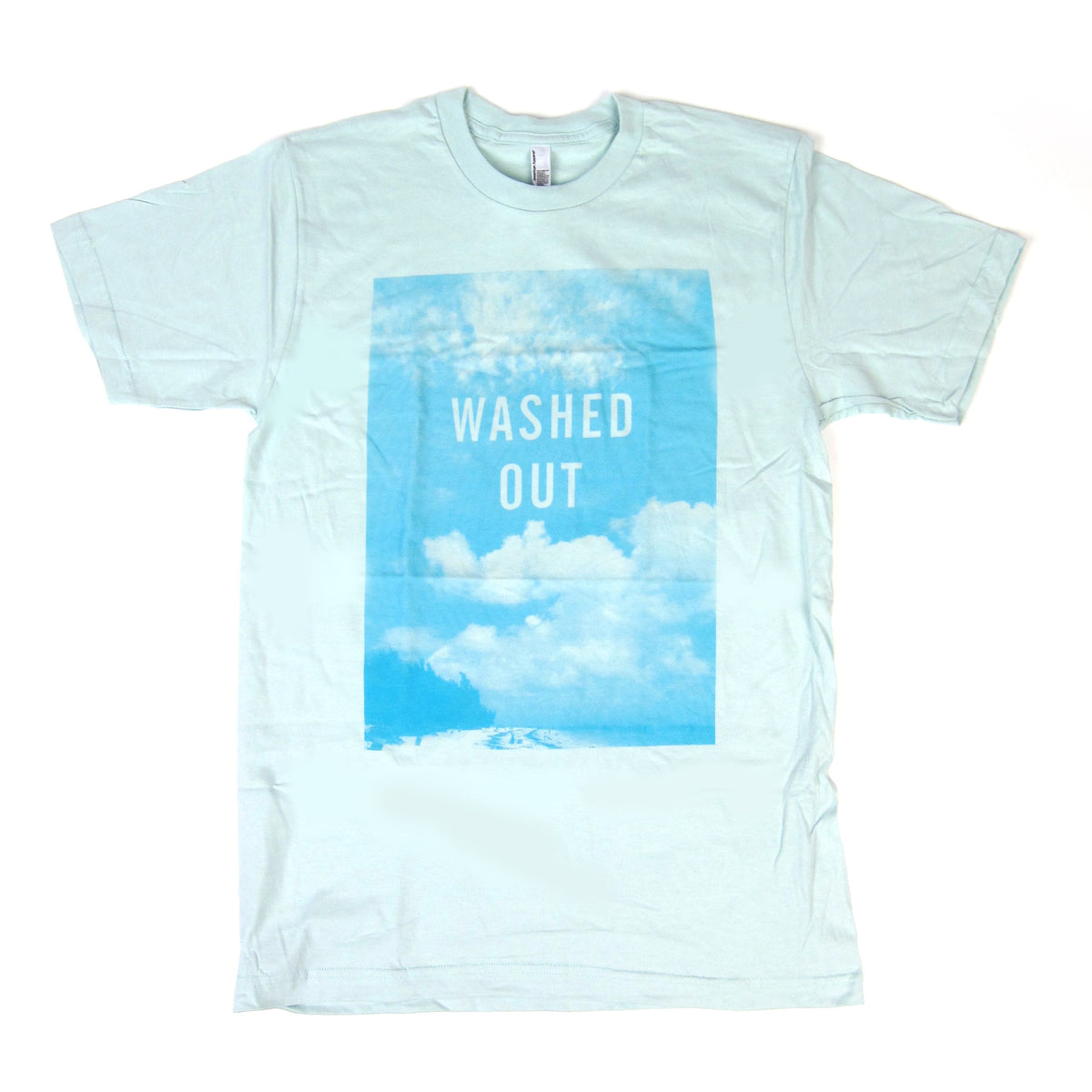 Washed Out: Clouds Shirt - Mint
