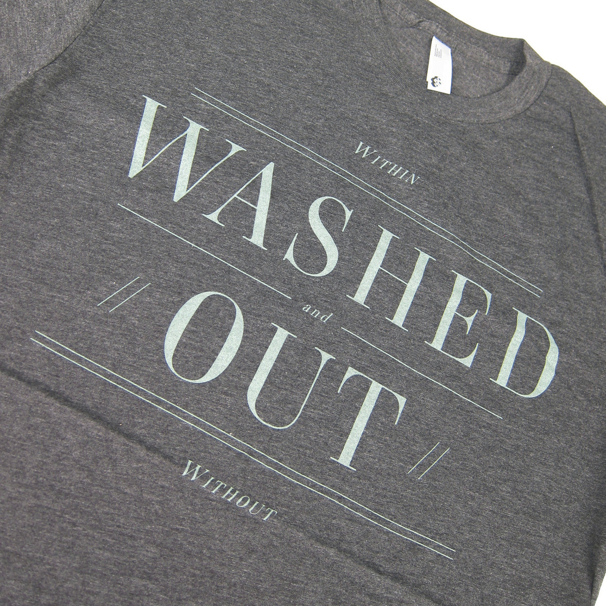 Washed Out: Within & Without Shirt - Heather Black