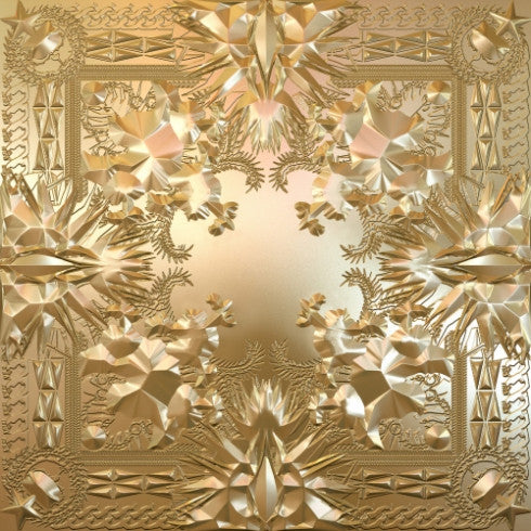 Kanye West & Jay-Z: Watch The Throne (Double Picture Disc, Gold Embossed Edition w/ Poster) 2LP