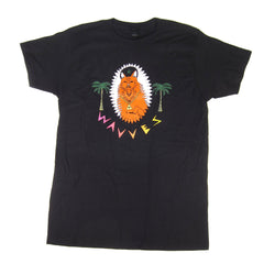 Wavves: King Of The Beach Shirt - Black