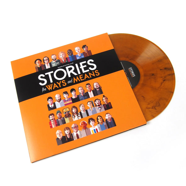 Waxploitation: Stories For Ways & Means (Colored Vinyl) Vinyl LP (Record Store Day)