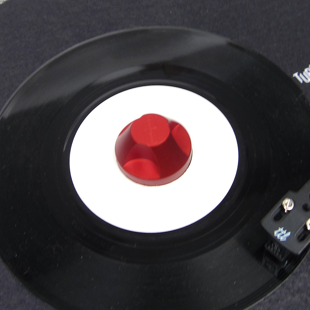 Wax Rax: 45A - 45 Adaptor - Red