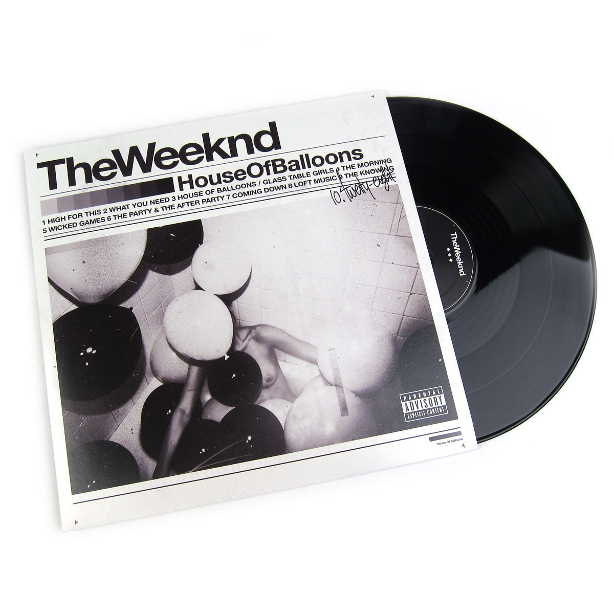 The Weeknd: House Of Balloons Vinyl 2LP