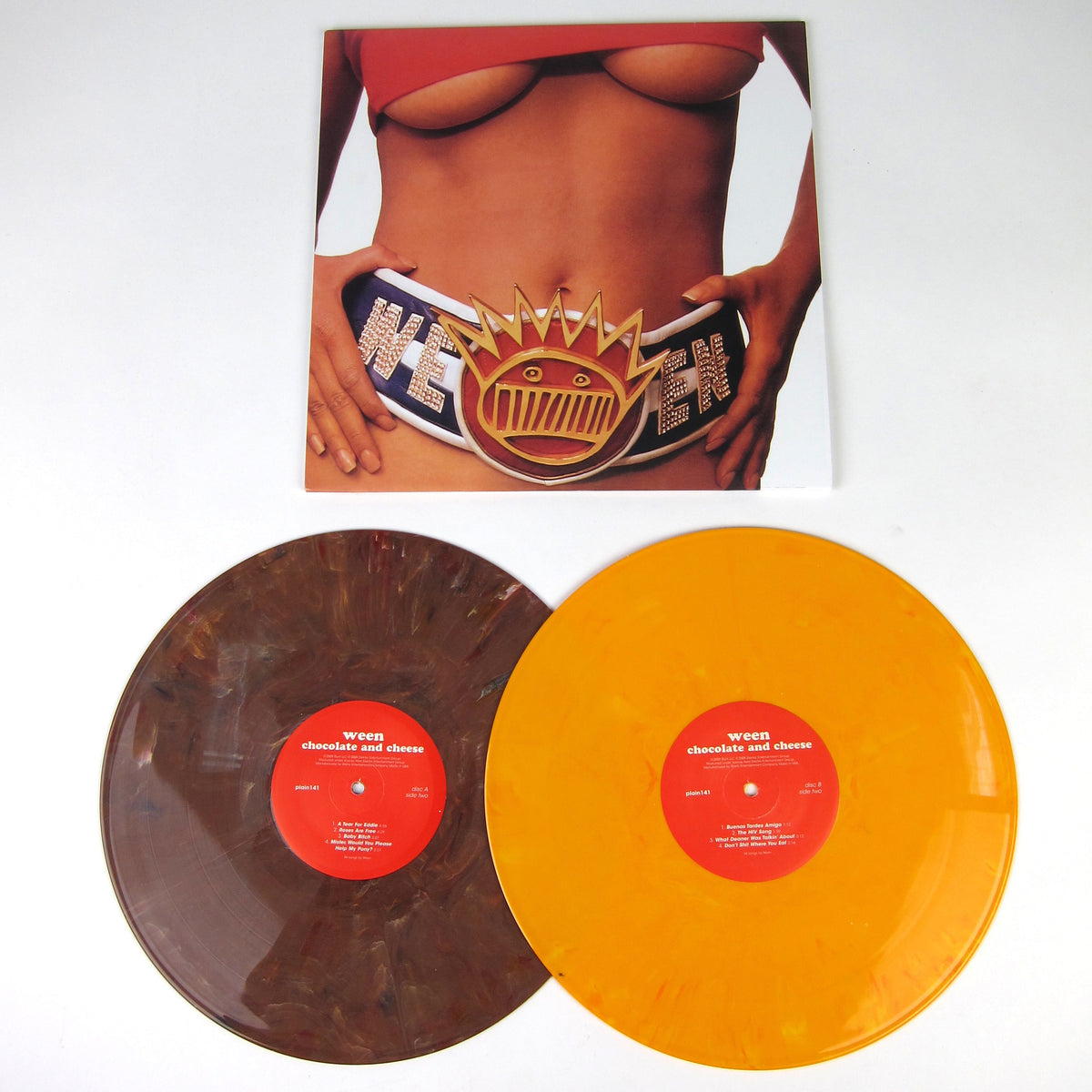 Ween: Chocolate And Cheese  Brown + Yellow Vinyl